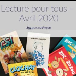 Lecture pour tous – Avril…