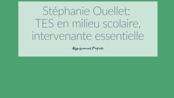 Scolaire. Les TES en milieu scolaire sont essentielle dans la vie de bien des jeunes. C'est un peu ce que Stéphanie Ouellet raconte ici, dans sa généreuse entrevue. #TES #éducatricespécialisée #technicienneenéducationspécialisée #milieuscolaire #besoinsparticuliers #enfants