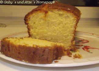 Getränkter Zitronen Cake