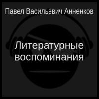 аудиокнига Литературные воспоминания