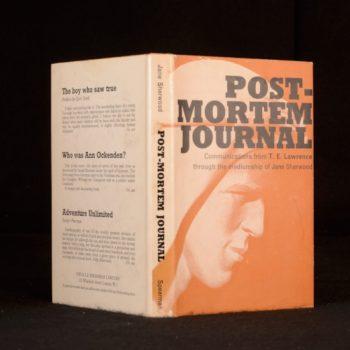 Journal Post-Mortem – T.E. Lawrence