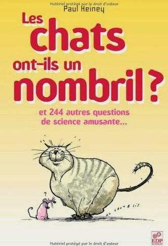 Les chats ont-ils un nombril? de Paul HEINEY