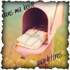 Dans ma boîte aux lettres (9)