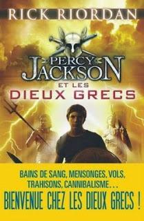Percy Jackson et les dieux grecs de Rick RIORDAN