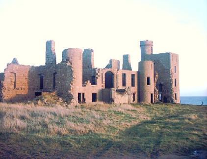 Le château de Slains