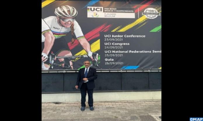 Le Matin – Mohammed Belmahi élu membre du bureau exécutif de l'Union cycliste internationale représentant l'Afrique
