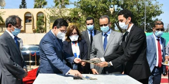 Rabat: pose de la première pierre de la nouvelle ambassade mauritanienne