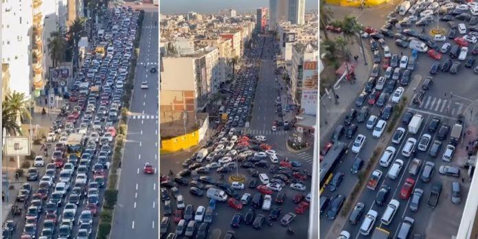 Vidéo: voici à quoi ressemble Casablanca à l'heure de pointe