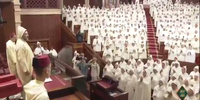 Ouverture de la 1ère session de l'année législative: les deux Chambres font une annonce