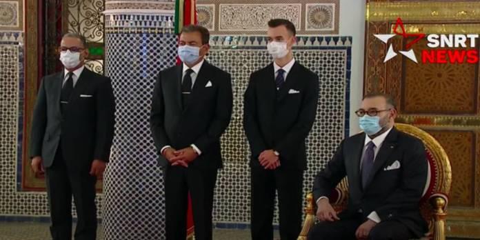 En vidéo: Le nouveau gouvernement reçu par le roi Mohammed VI