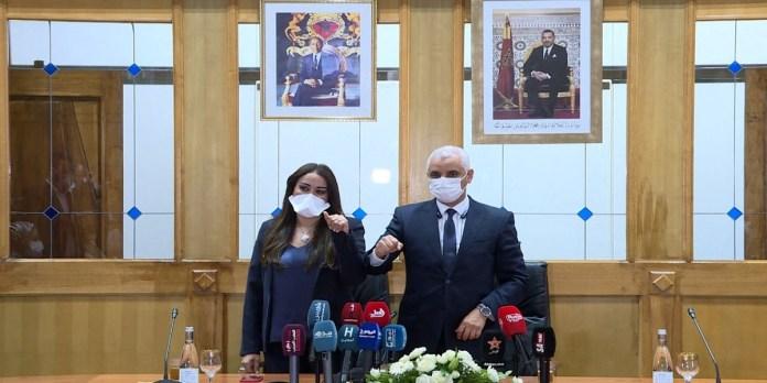 Santé: passation de pouvoirs entre Khalid Ait Taleb et Nabila Rmili
