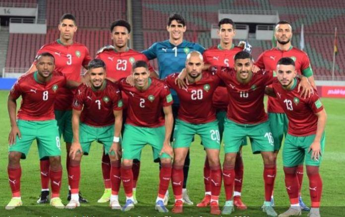 Valeur marchande des équipes nationales. Le Maroc 4ème africain et 22 ème mondial