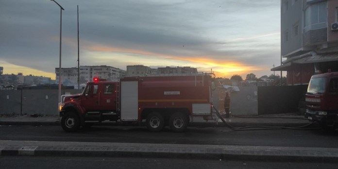Salé: terrible incendie au marché de Tabriquet (PHOTOS)