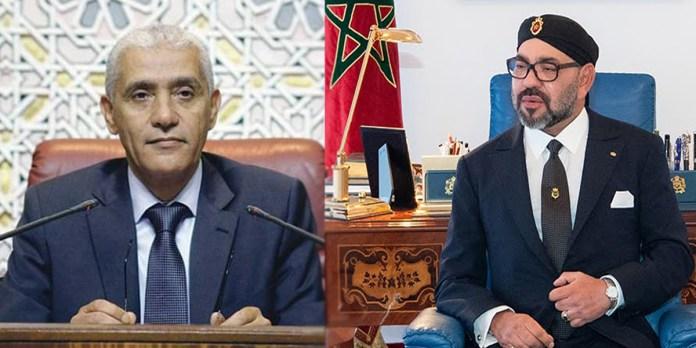 Le roi Mohammed VI félicite Rachid Talbi Alami