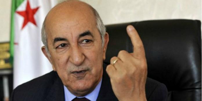 Le président algérien s'acharne sur le Maroc et devient la risée de la Toile