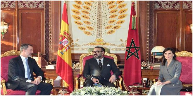 Les Souverains d'Espagne ont reçu un message du roi Mohammed VI