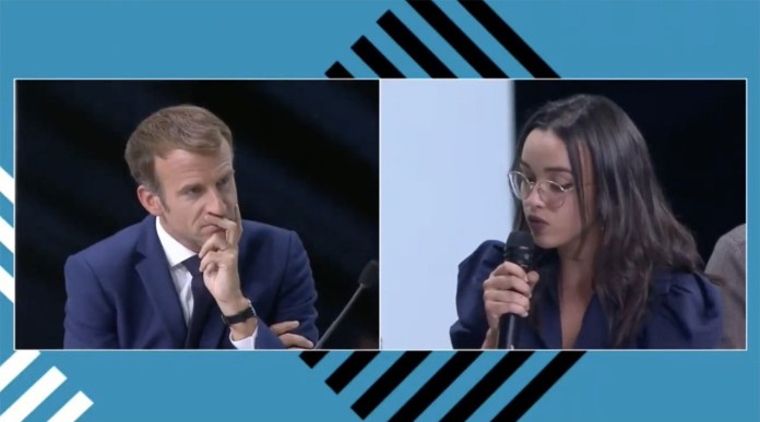 Sommet Afrique-France. Ce que la jeune Marocaine Amina Zakhnouf a dit à Emmanuel Macron [Vidéo]