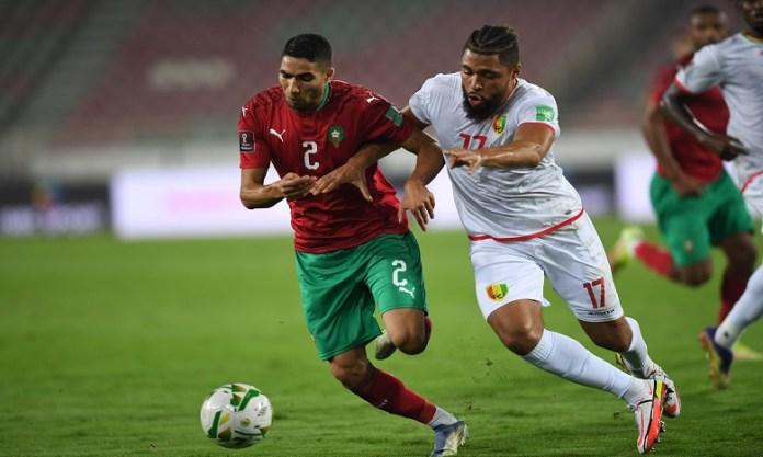 Le Matin – Eliminatoires Mondial-2022 : le Maroc se qualifie pour les barrages après sa victoire face à la Guinée
