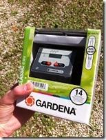 Programmateur arrosage Gardena
