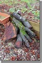 rondins de bois et biodiversité