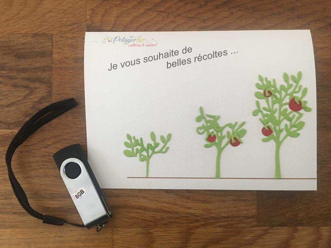 Clé USB sur la permaculture