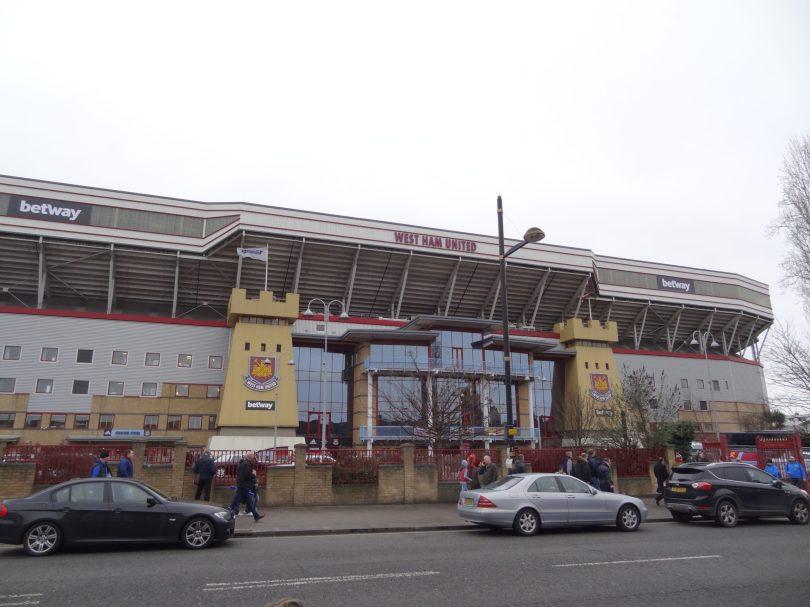 West Ham - Crystal Palace à Boleyn Ground