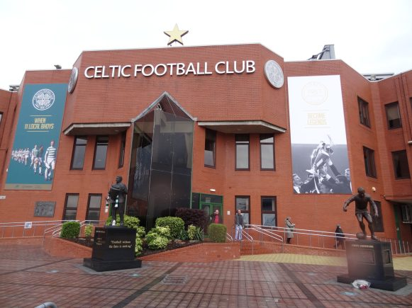 devanture du celtic park