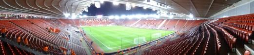 vue panoramique stade southampton