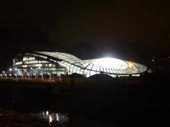 aviva stadium de nuit