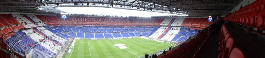 vue panoramique groupama stadium