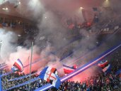 tifo sampdoria pour le derby