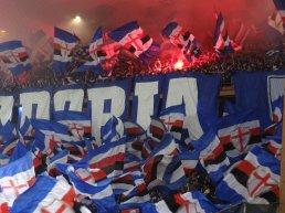 sampdoria fans pour le derby