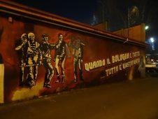 graffiti ultras Bologne