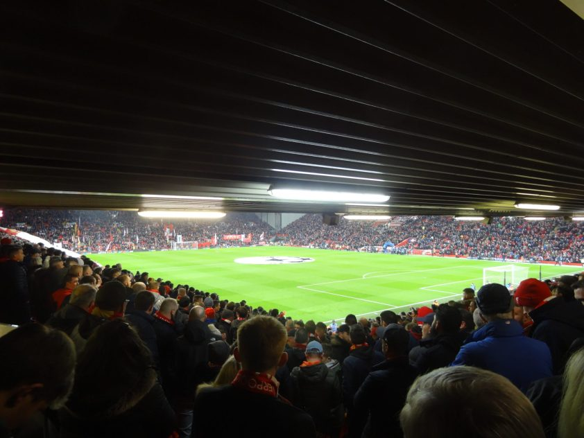 Liverpool - Bayern Munich, 1/8ème Aller de LdC