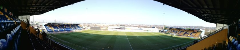 vue panoramique Mansfield Town