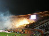 pyro étoile rouge belgrade derby
