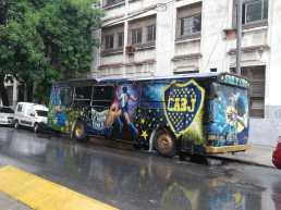 bus aux couleurs de Boca