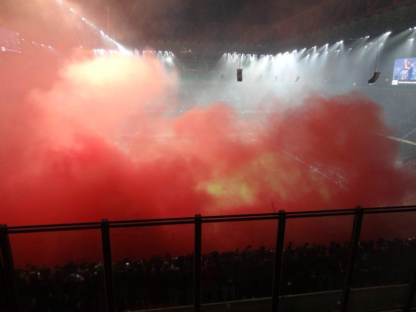 Inter Milan – AC Milan - Groundhopping Italie - Au stade