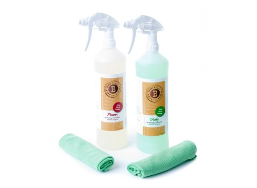 Beefer Cleaner Set (Daily & Power) incl. Microfibre Cloth