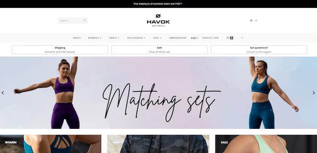Melissa Wu Havok website