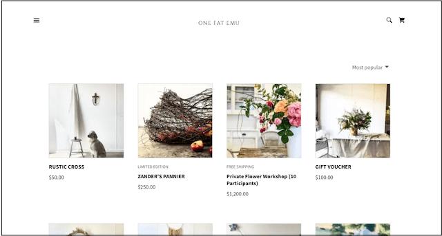One Fat Emu online store