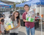 A raffle of baskets was won by two Fillmore Youth