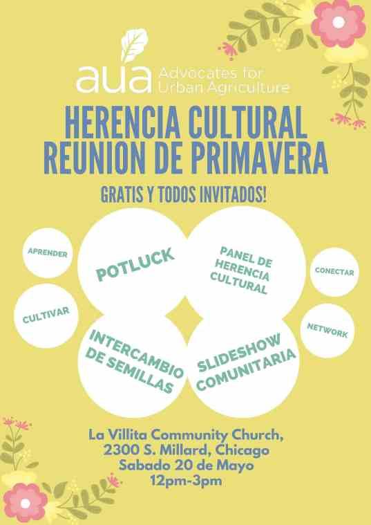 Spring Gathering - Spanish