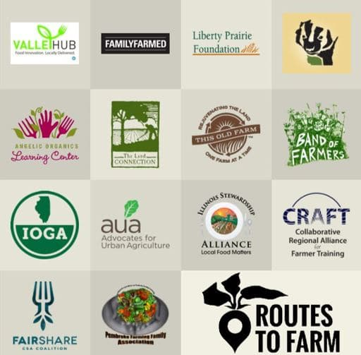 Routes 2 Farm Alliance logo