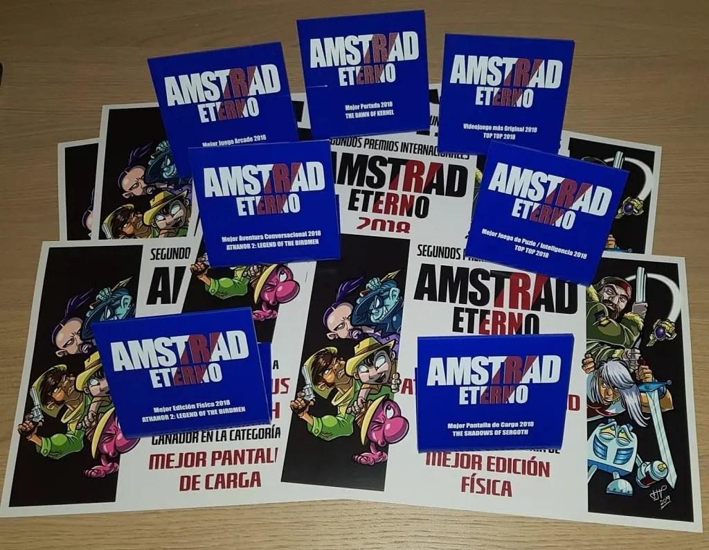 Premios Amstrad Eterno