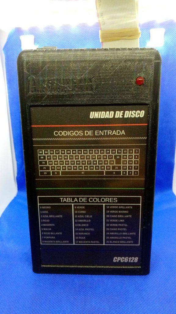 caja para disquetera