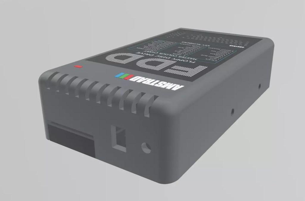 Caja para disquetera en impresión 3D 1