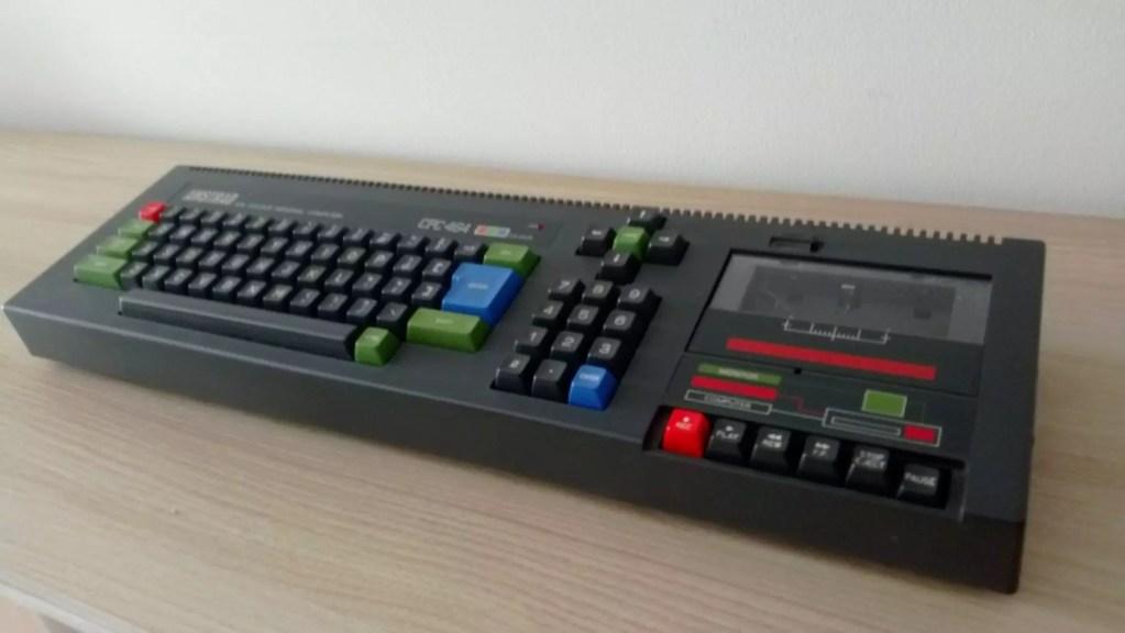 Restauración Amstrad CPC 464 2