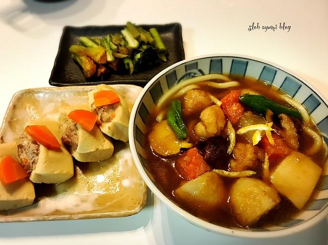 丸亀製麺のごろごろ野菜の揚げだしうどんのレシピ