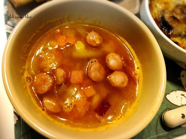 野菜のコンソメスープのレシピ